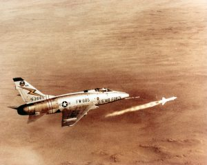 F-100 Super Sabre FIring