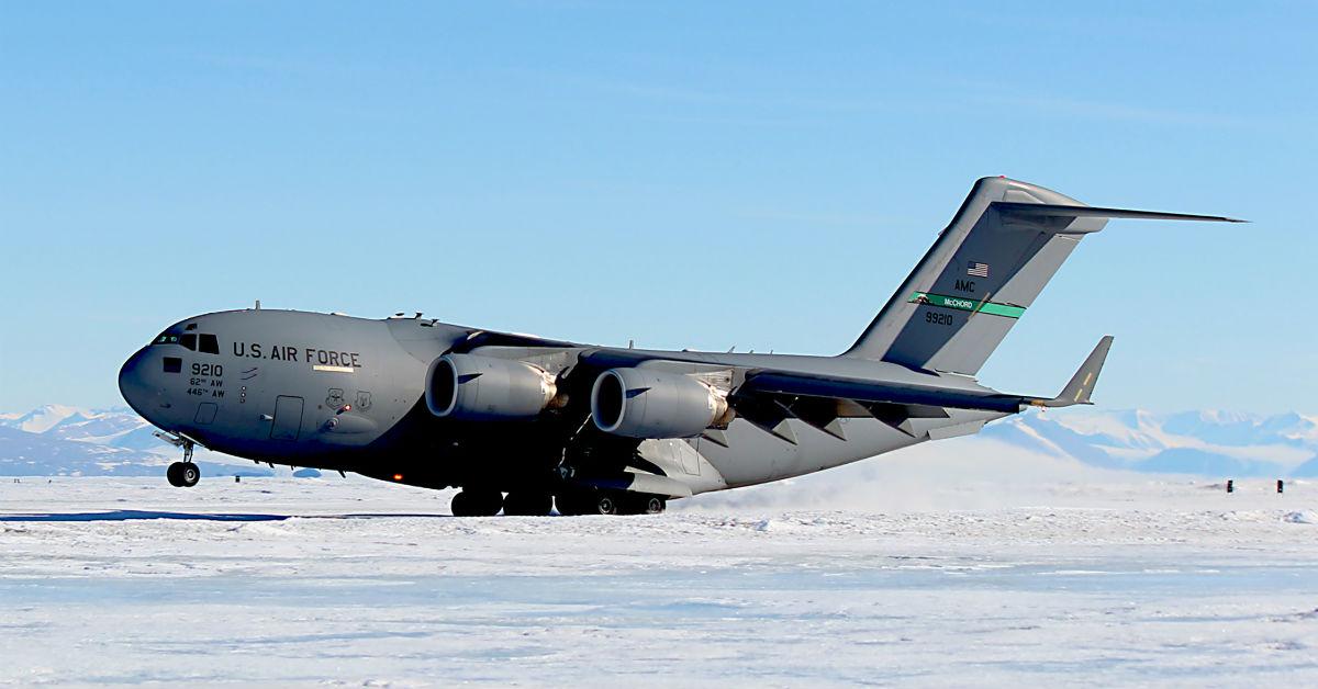 C-17 Globemaster III Antarctica