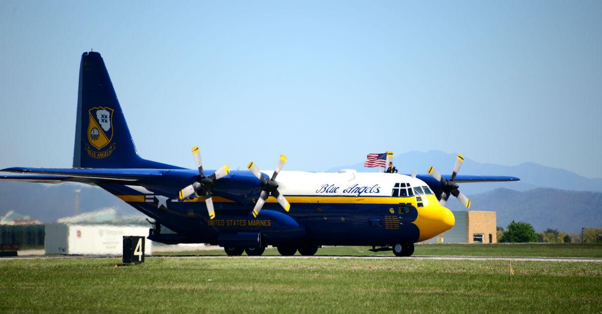 Fat Albert Aircraft Blue Angels