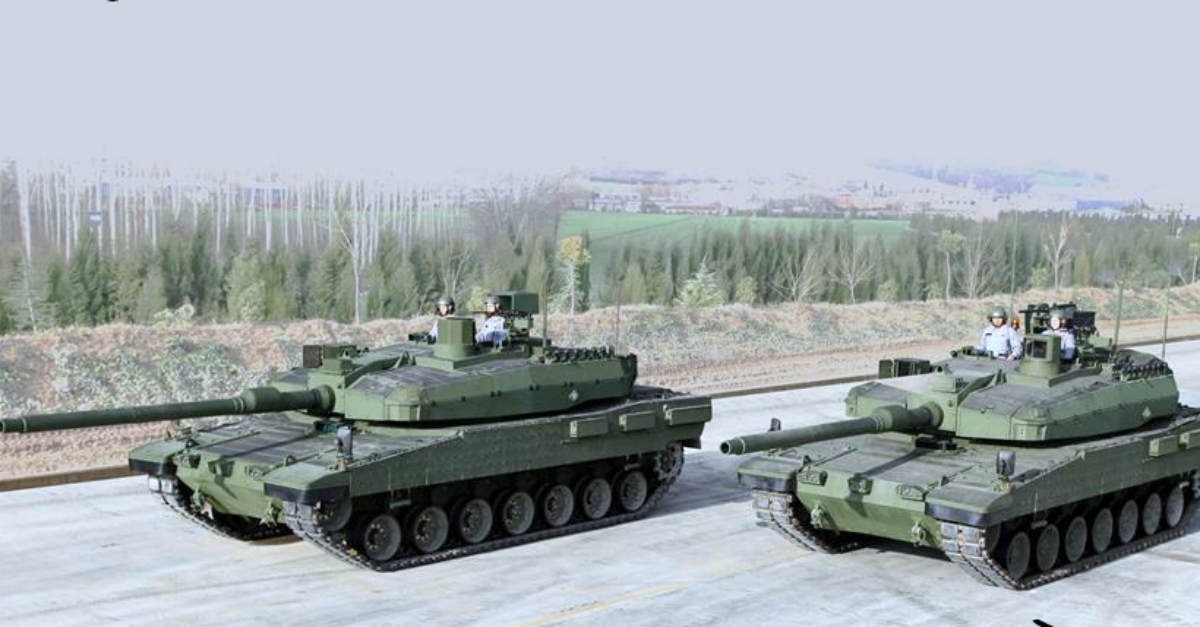 Altay Battle Tank