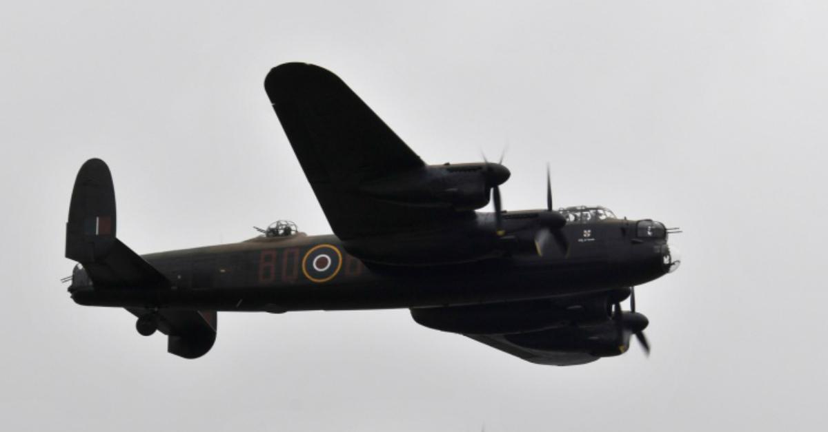 Avro Lancaster plane