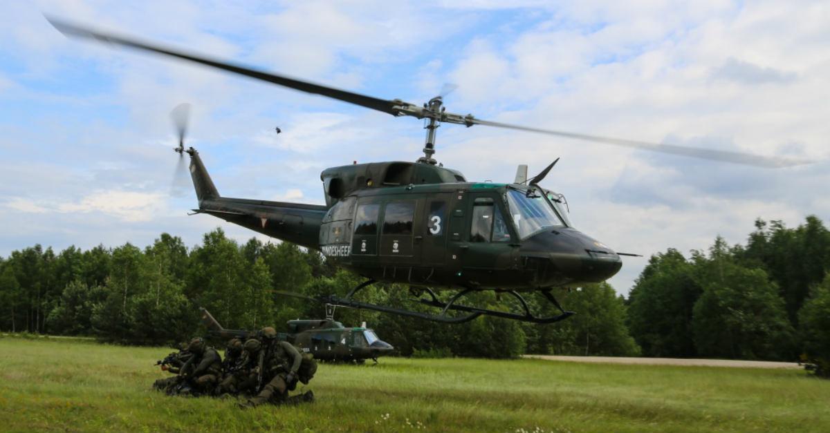 Bell UH-1 Iroquois aircraft