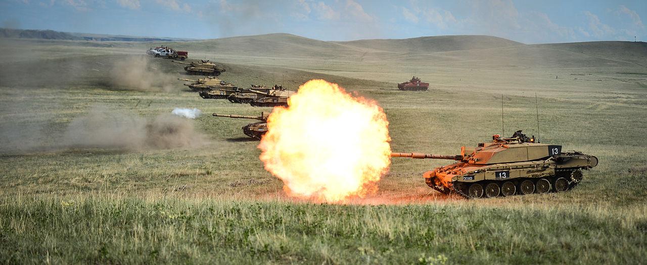 Challenger 2 Tank, modern battle tank