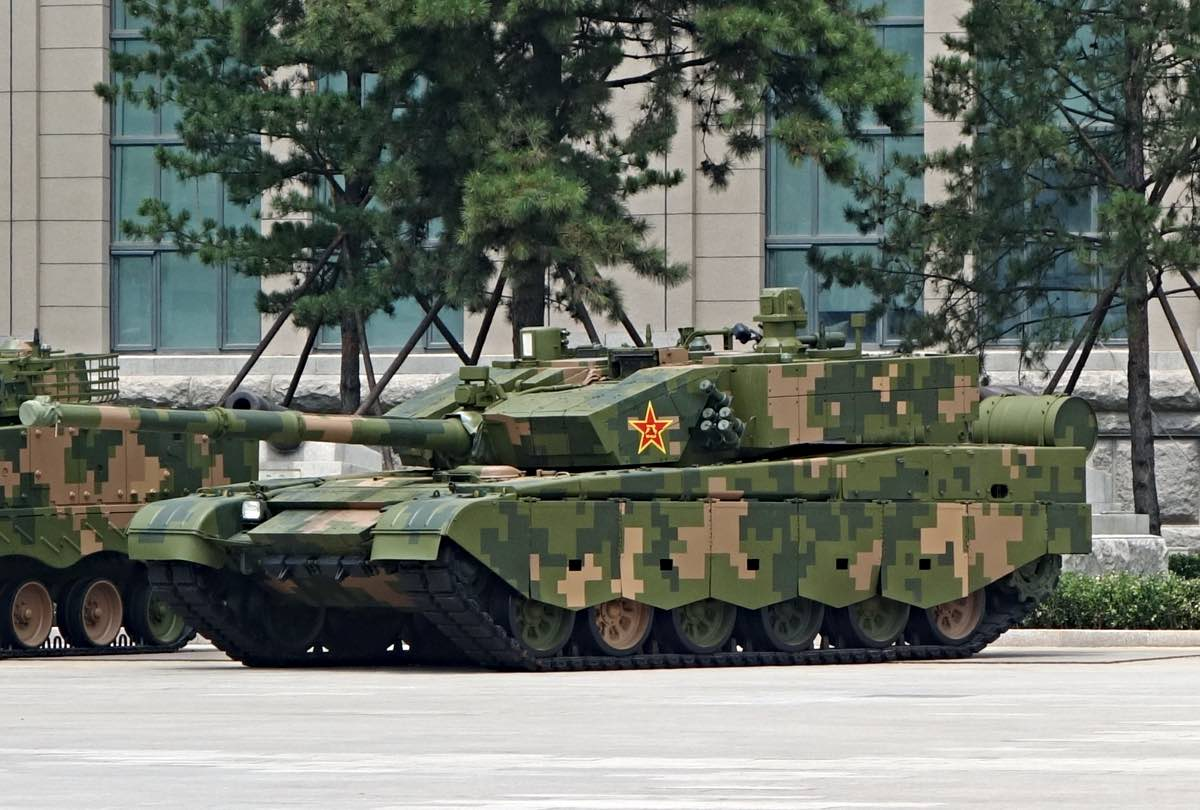 Chinese Type 99 Main Battle Tnk
