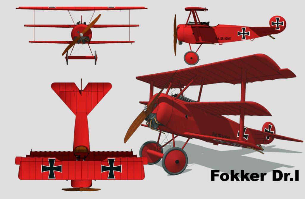 Fokker_Dr.I