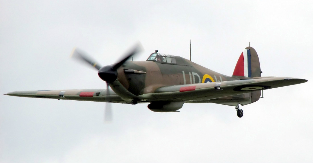 Hawker Hurricane plane
