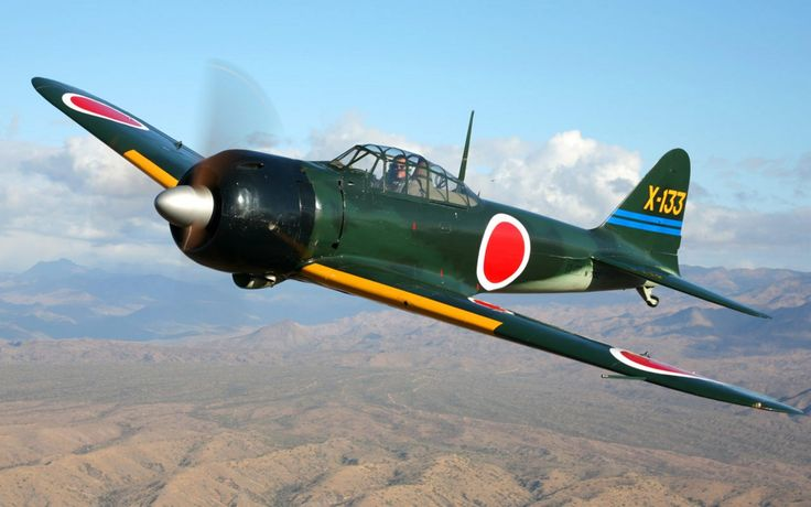 mitsubishi a6m zero aircraft | military machine