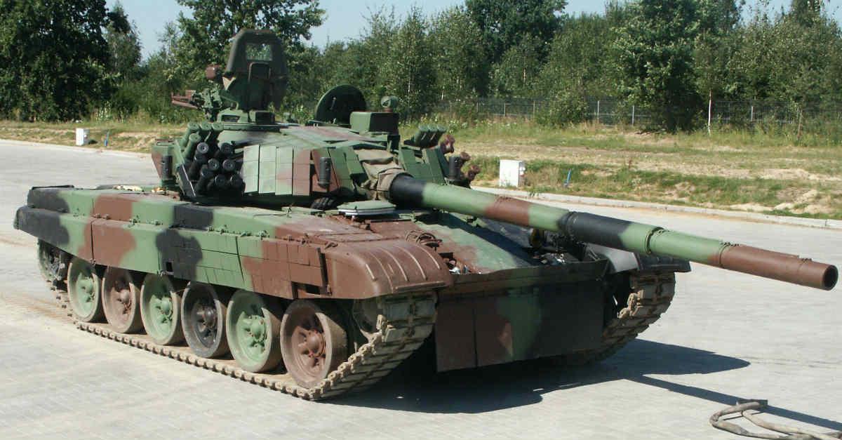 PT91 Twardy tank