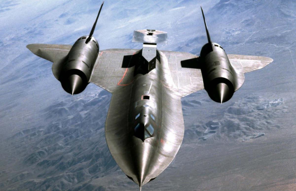 SR-71 Blackbird aircraft