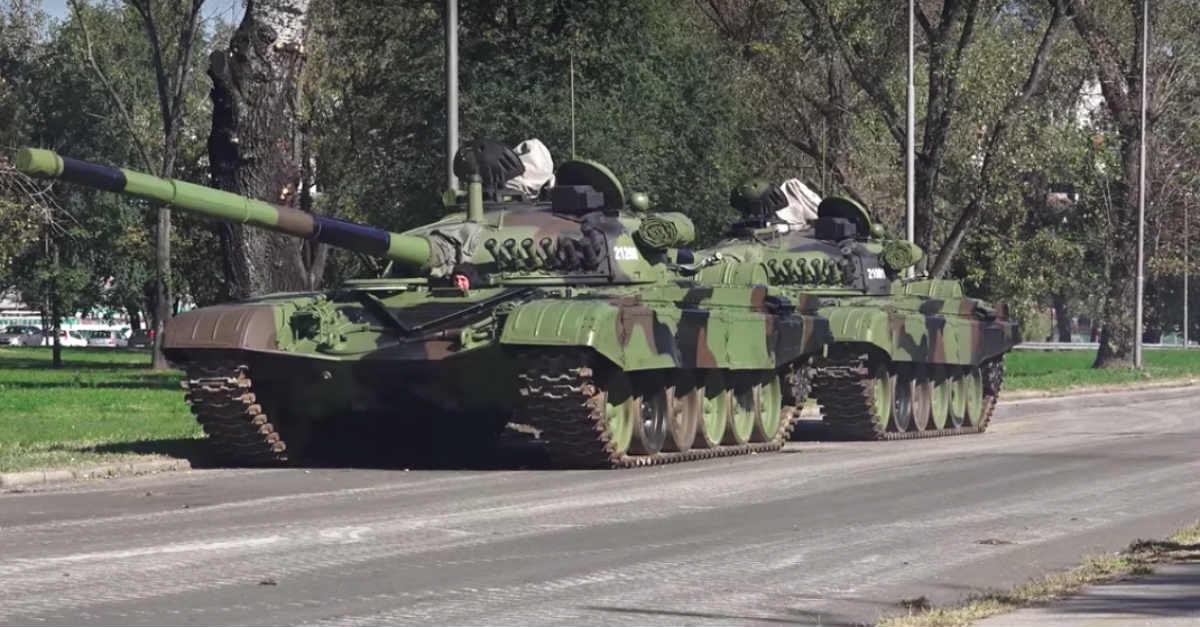T-84 tank