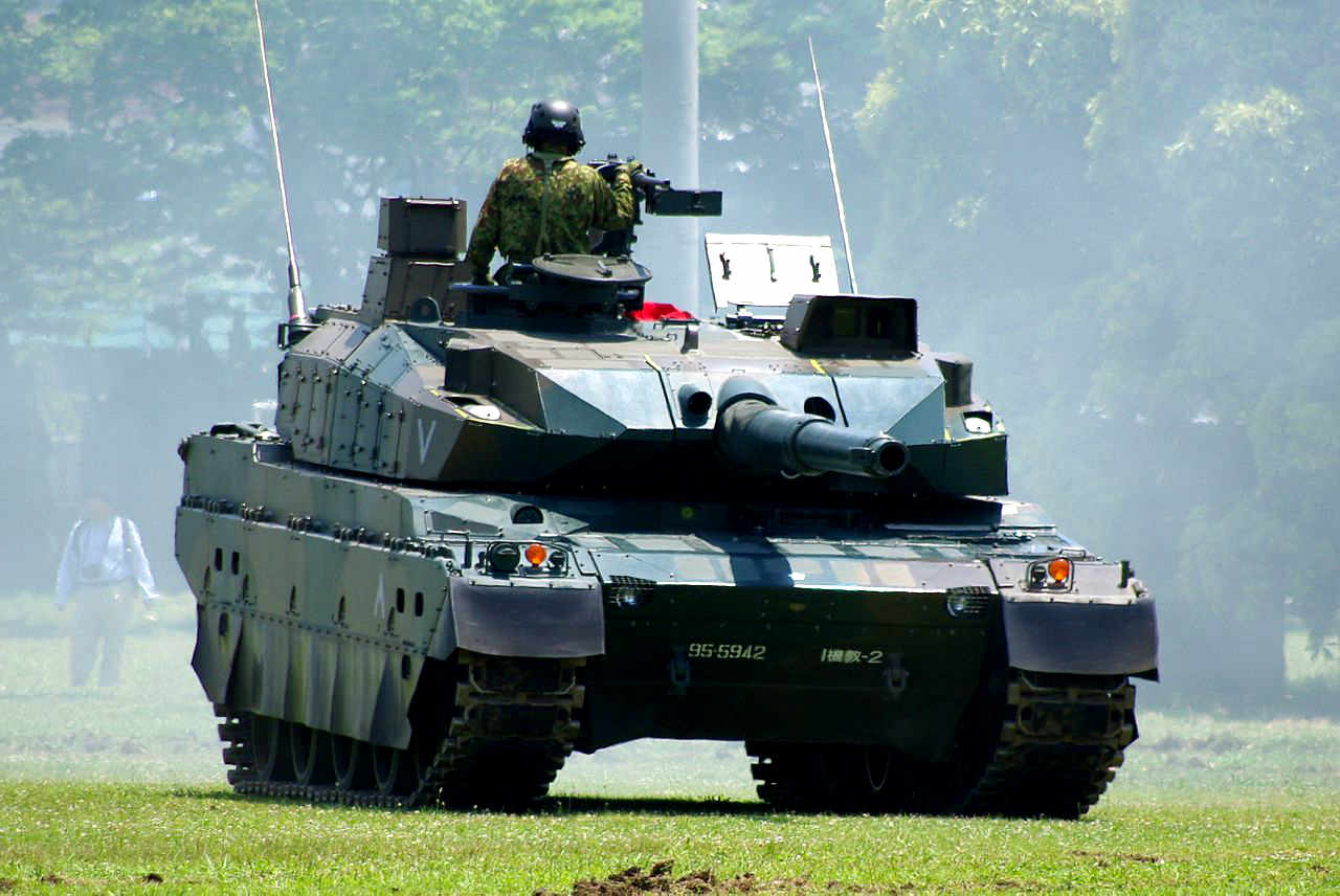 Type 10 Tank, modern battle tank