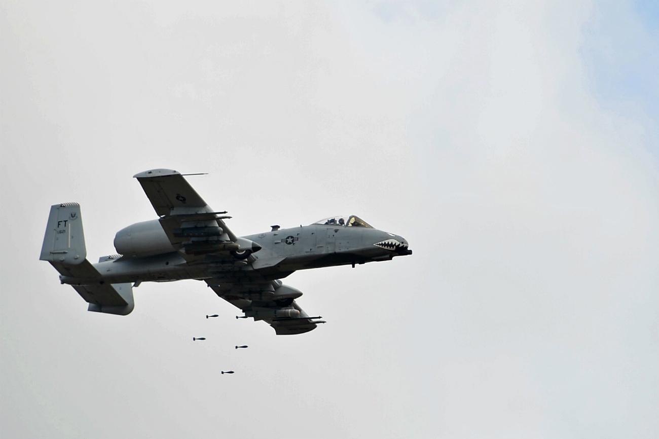 A-10 Aircraft Bomb drops