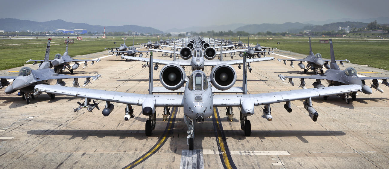A-10 Aircraft Elephant Walk