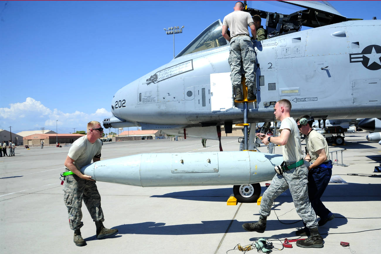 A-10 Aircraft Missile Loading