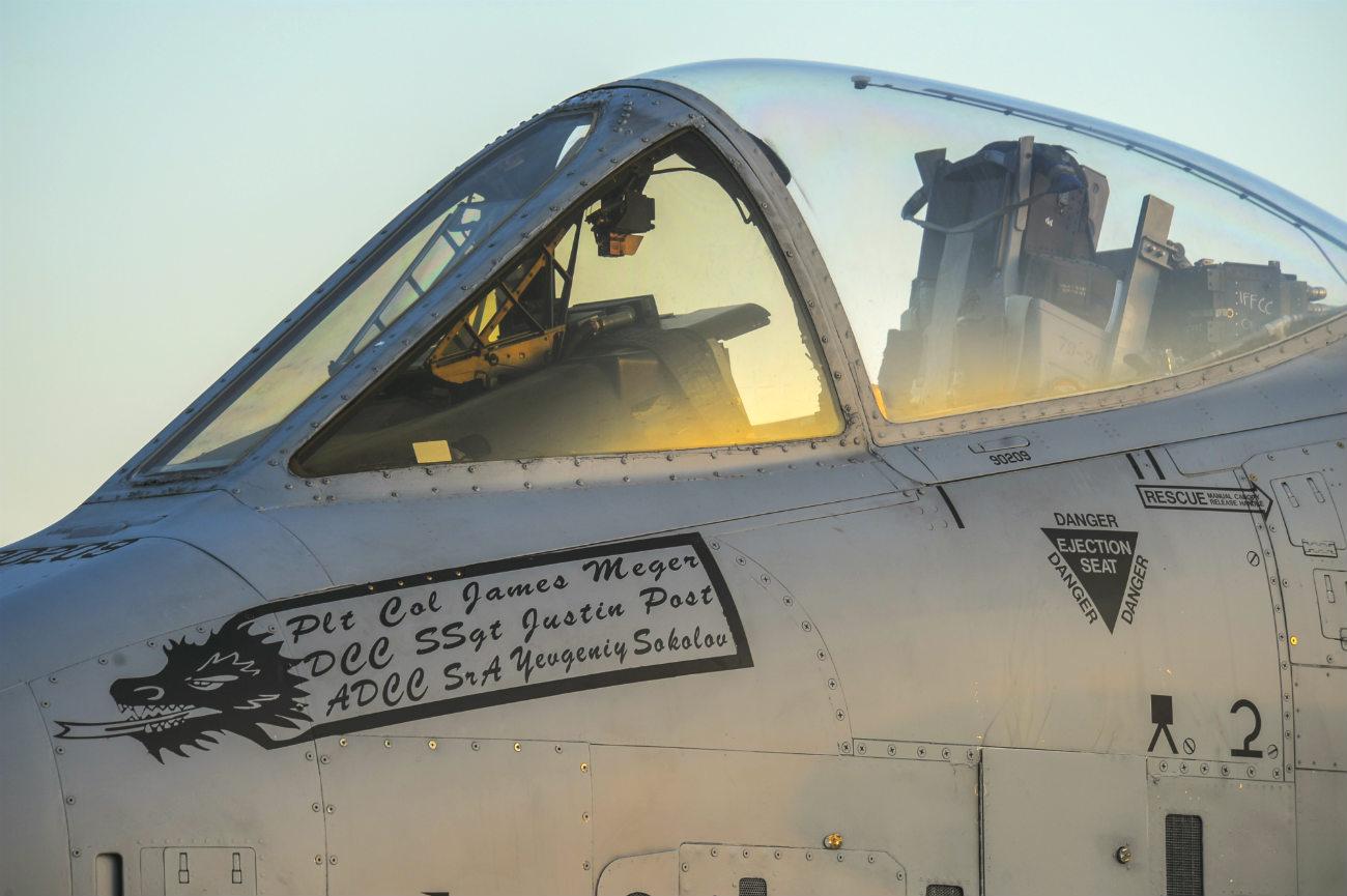 A-10 Aircraft Pilots Seat