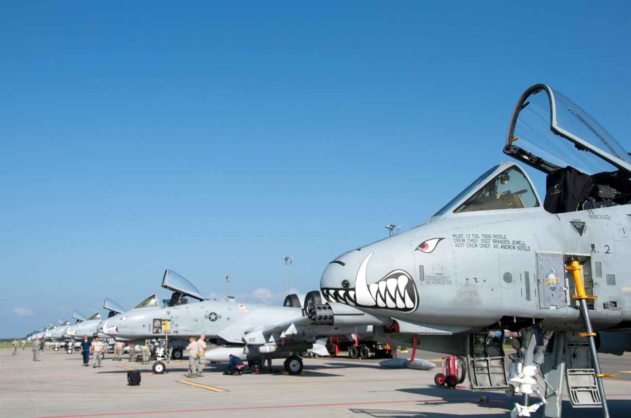 A-10 Images Jets Parked