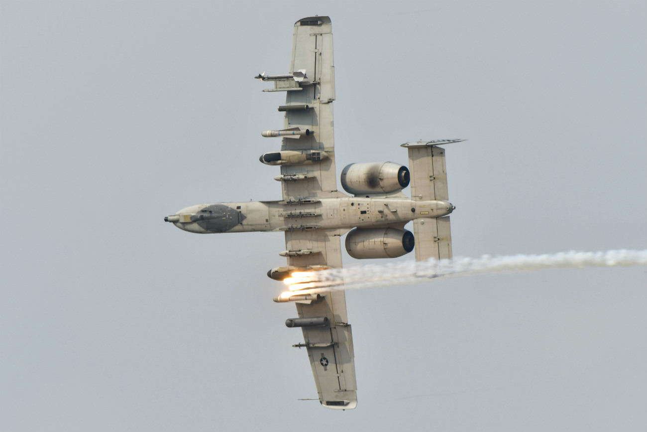 A-10 Missile Launches