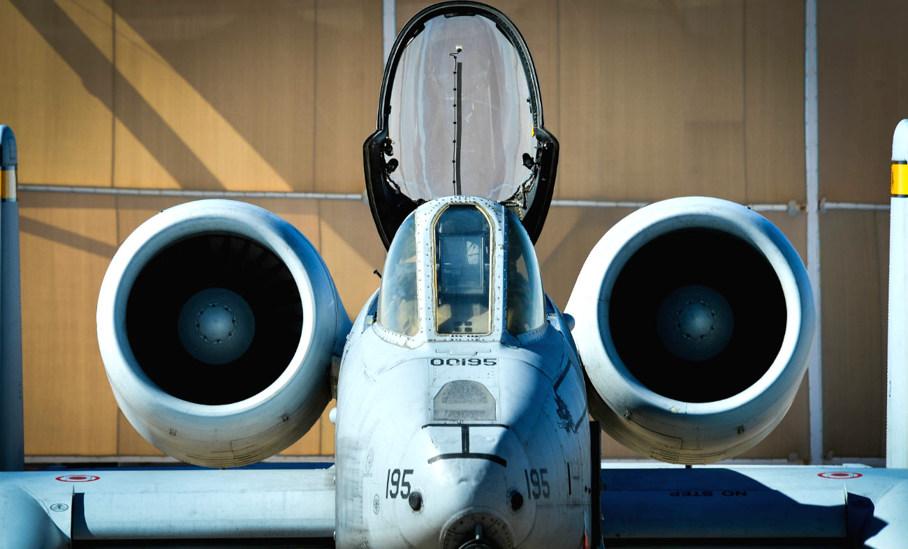 A-10 Images Roof off