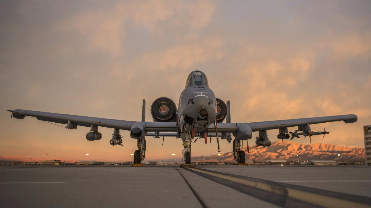 A-10 Images Thunderbolt Park dawn