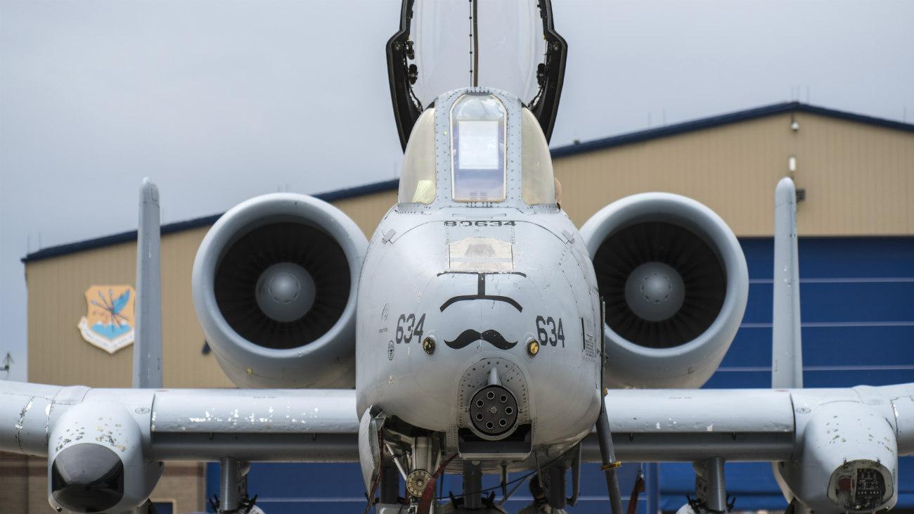 A-10 Warhog front