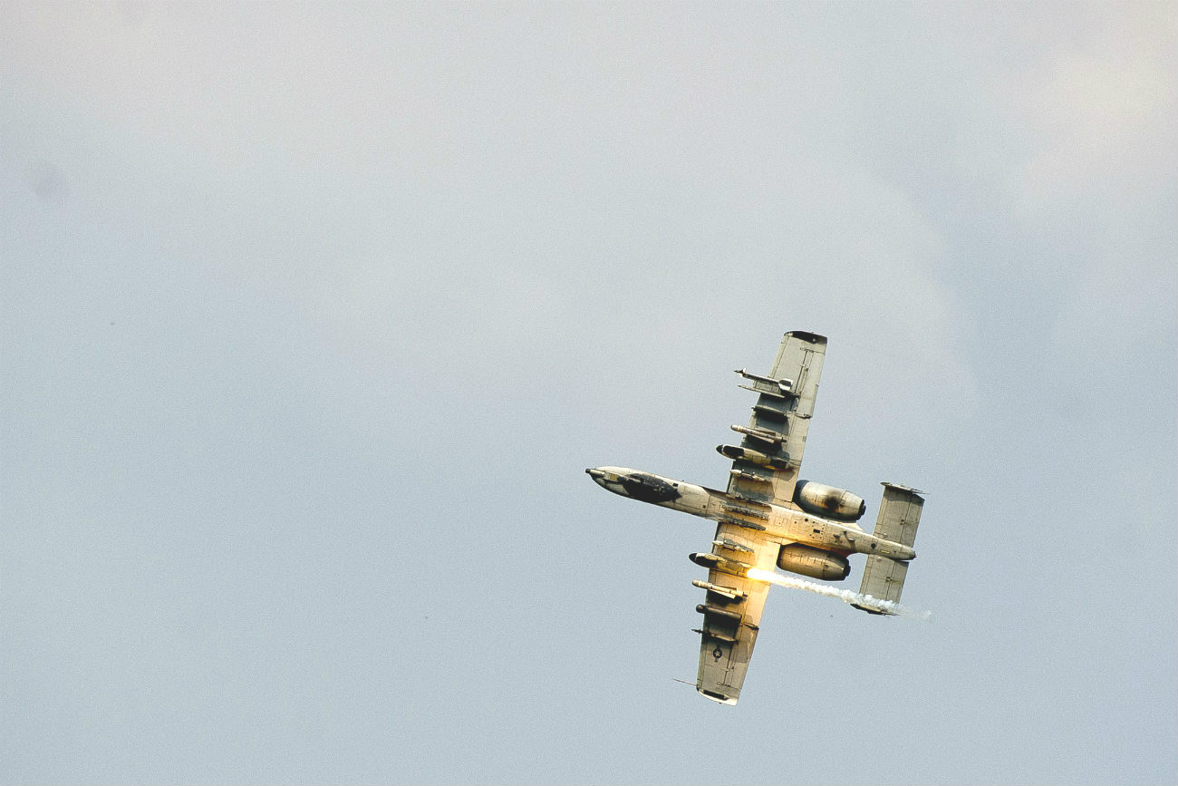 A-10 missile launch