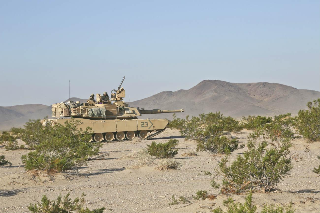 Abrams M1 tank