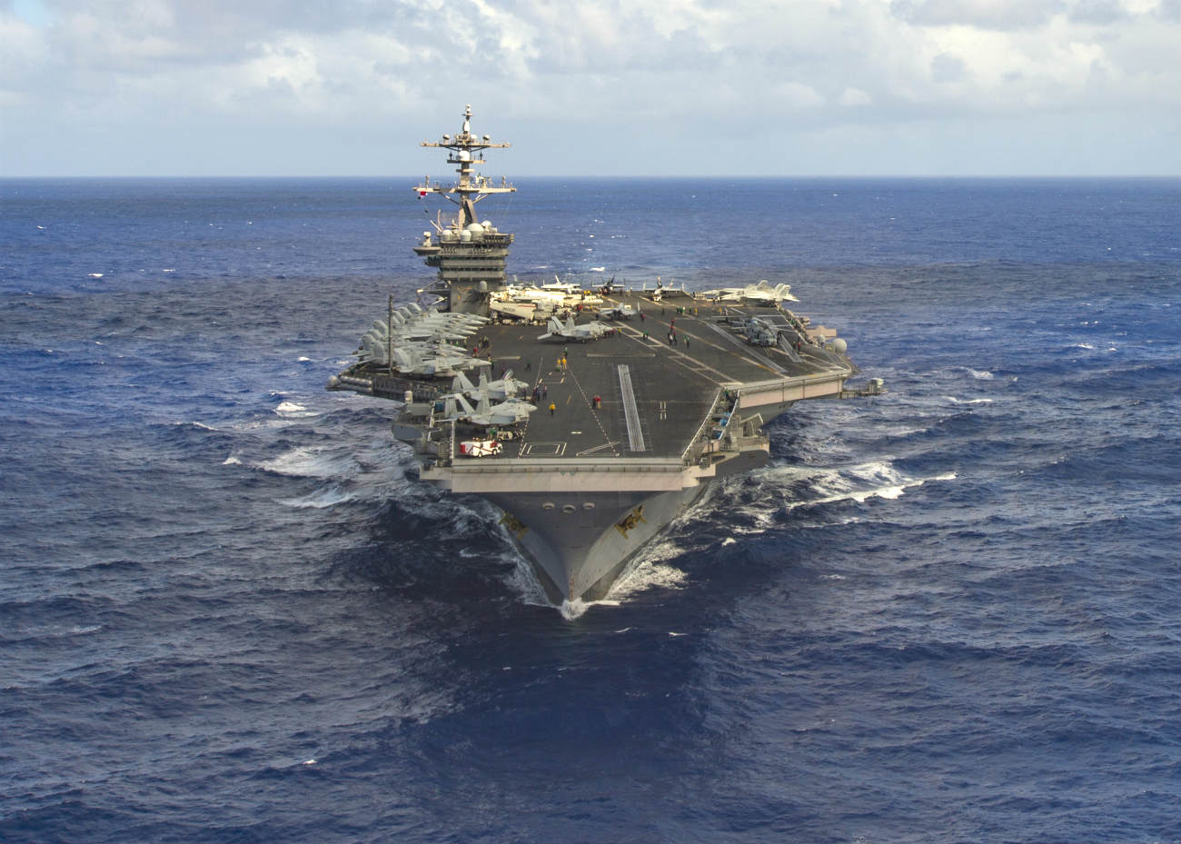 Air force aircraft carrier images