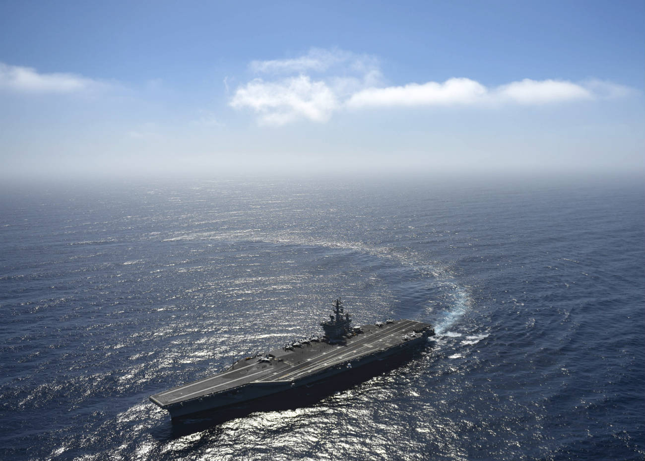 Aircraft Carrier Maneuverability