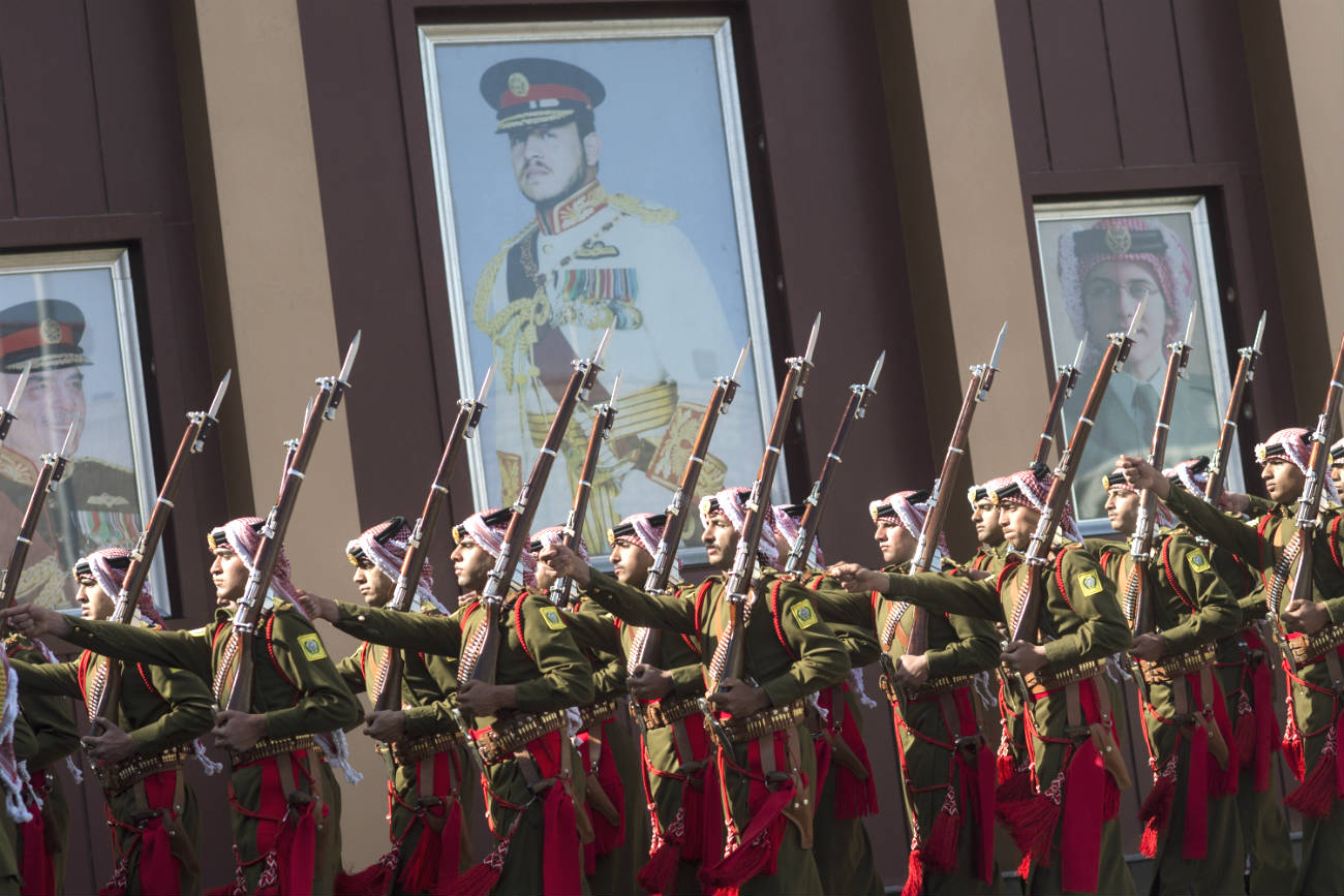 Armed Forces Jordanian Marching