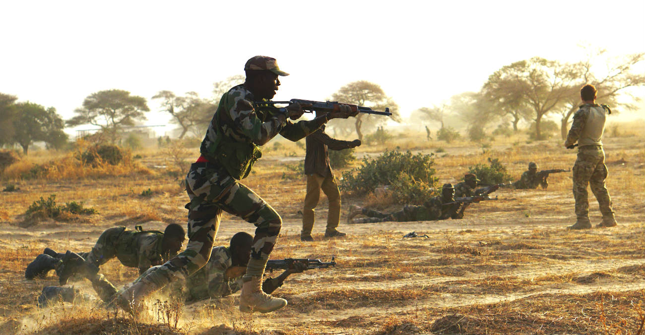 Armed Forces Nigerien training