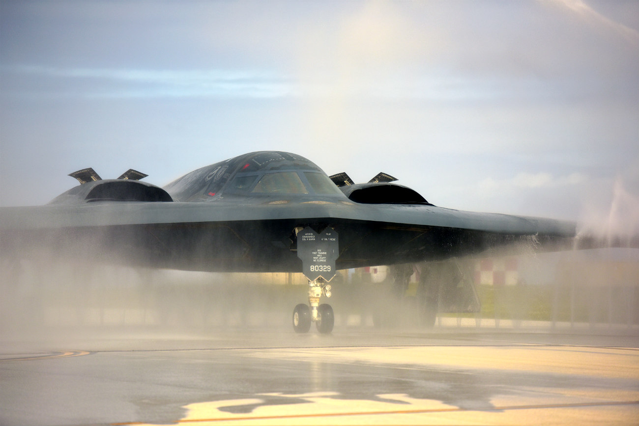 B-2 Spirit Aircraft Bird bath