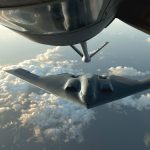 B-2 Spirit Aircraft refuel