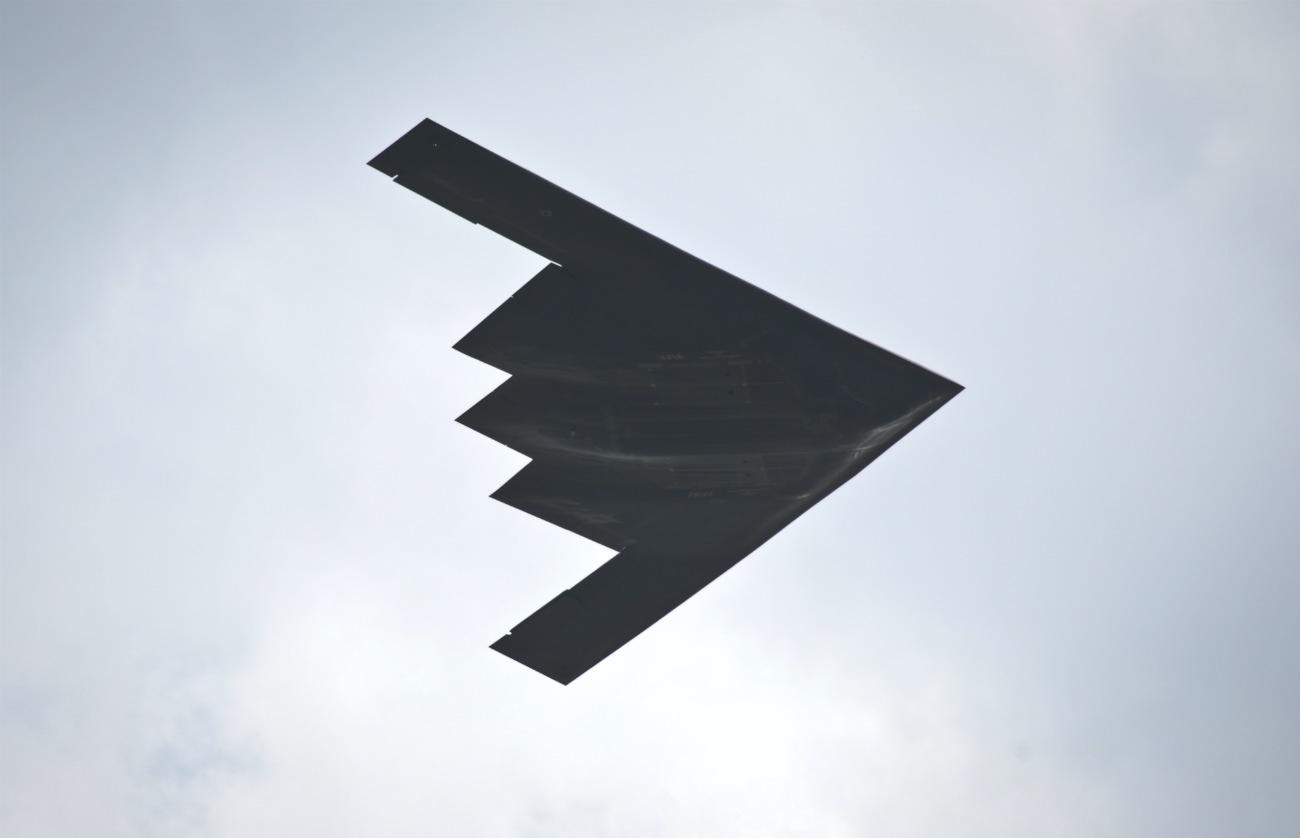 B-2 Images Spirit Bomber Shape