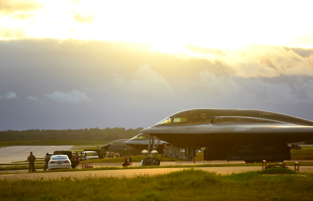 B-2 Images Spirit Parked