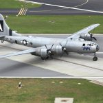 B-29 Superfortress Parked