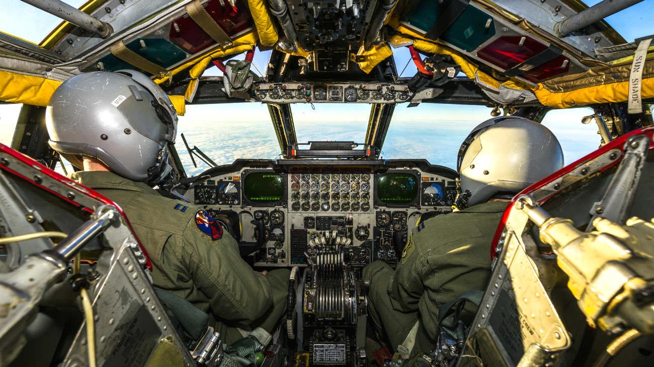 B-52 Aircraft Cockpit