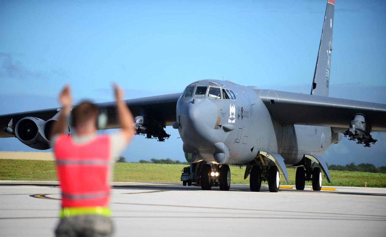 B-52 Aircraft Directed