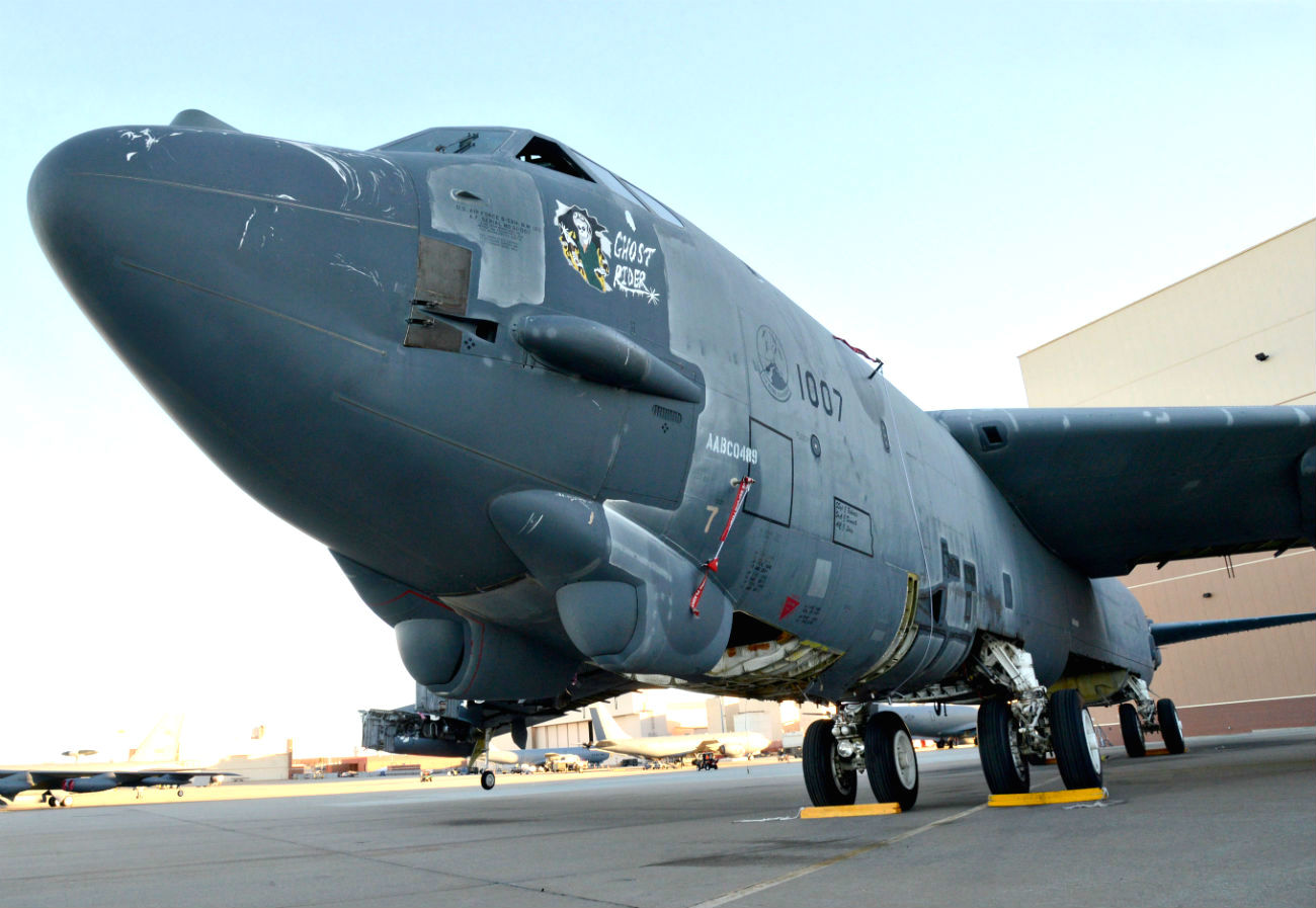 B-52 Aircraft Parked
