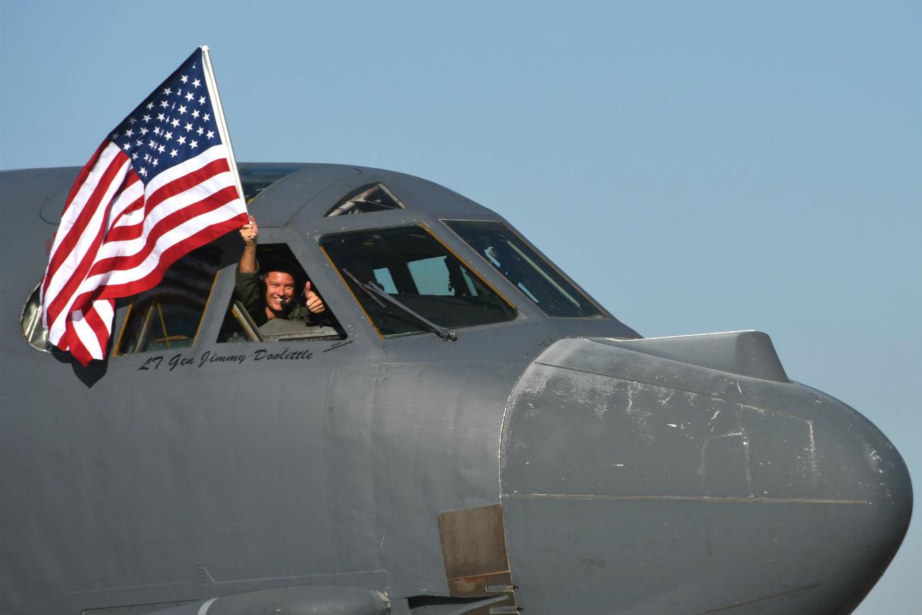 B-52 Aircraft Pilot Flag