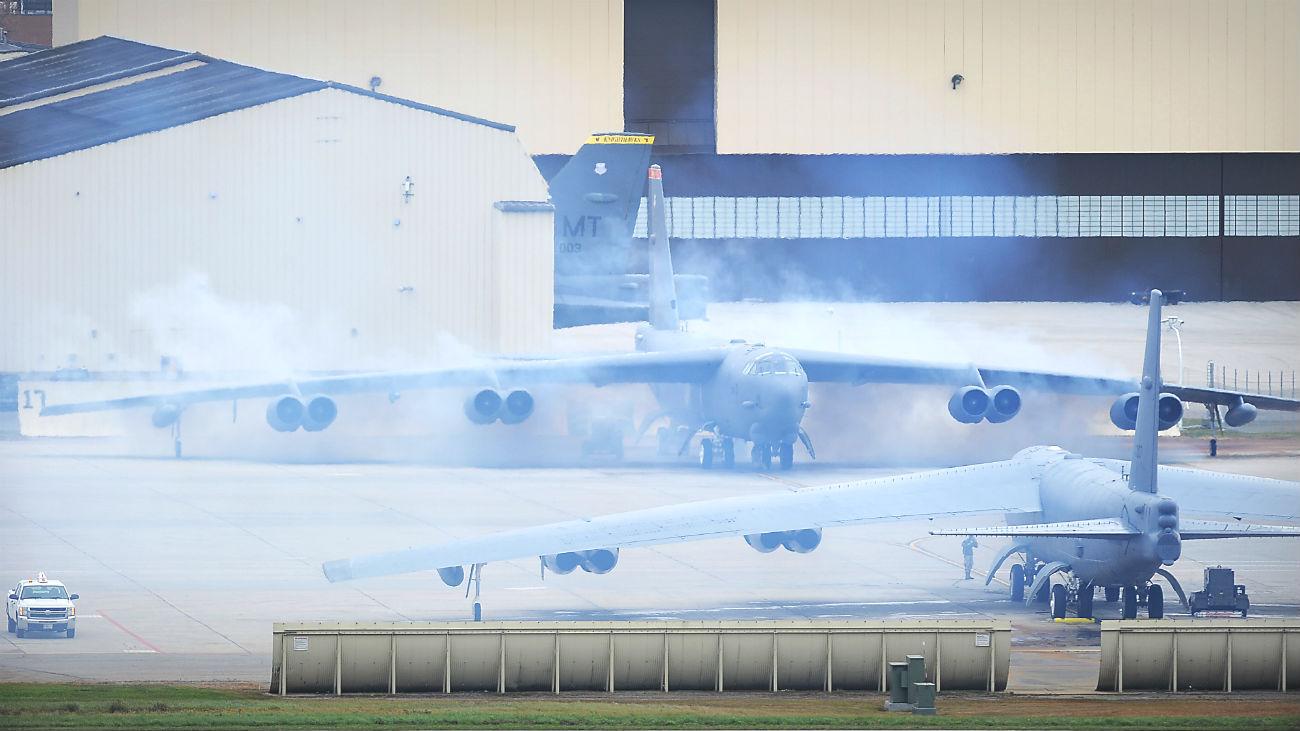B-52 Stealth Bomber preflight