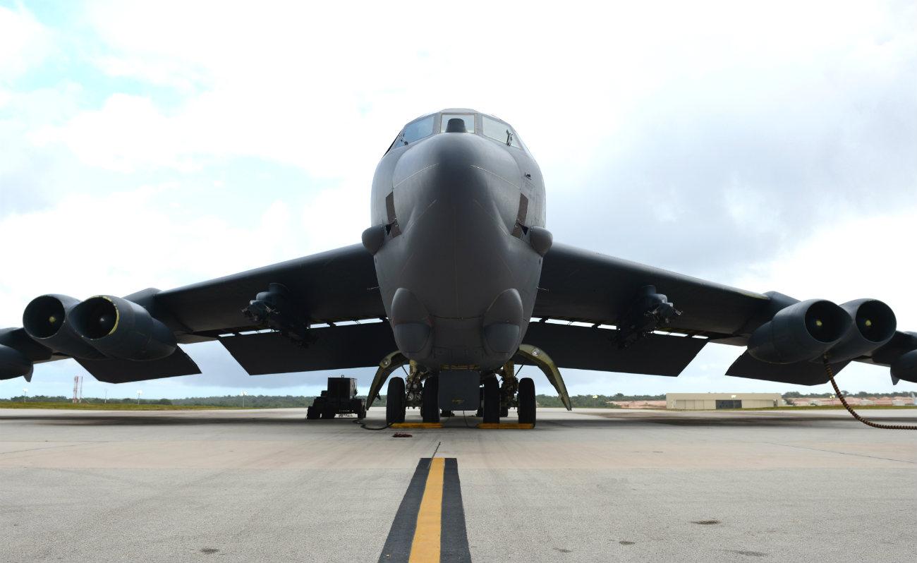 B-52 Steath Bomber Parked