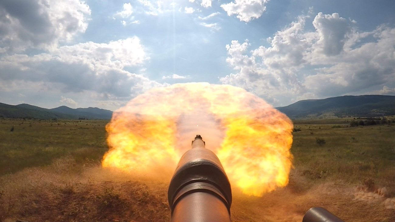 Battle Tank Images M1 Abrams POV