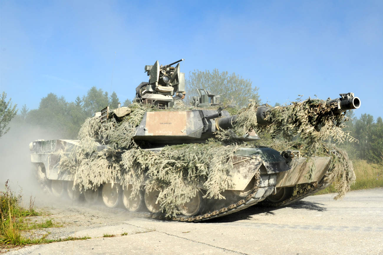 Battle tanks mossy camo