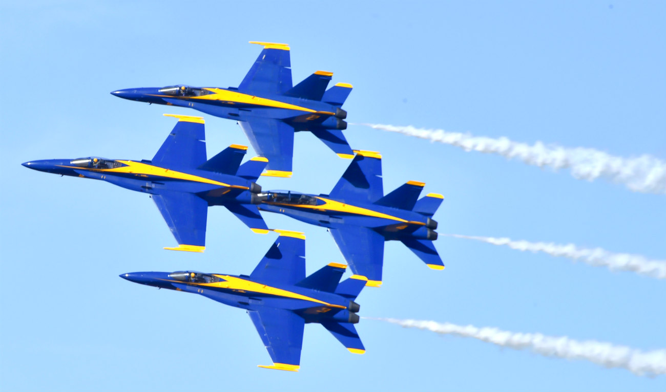 Blue Angels images team