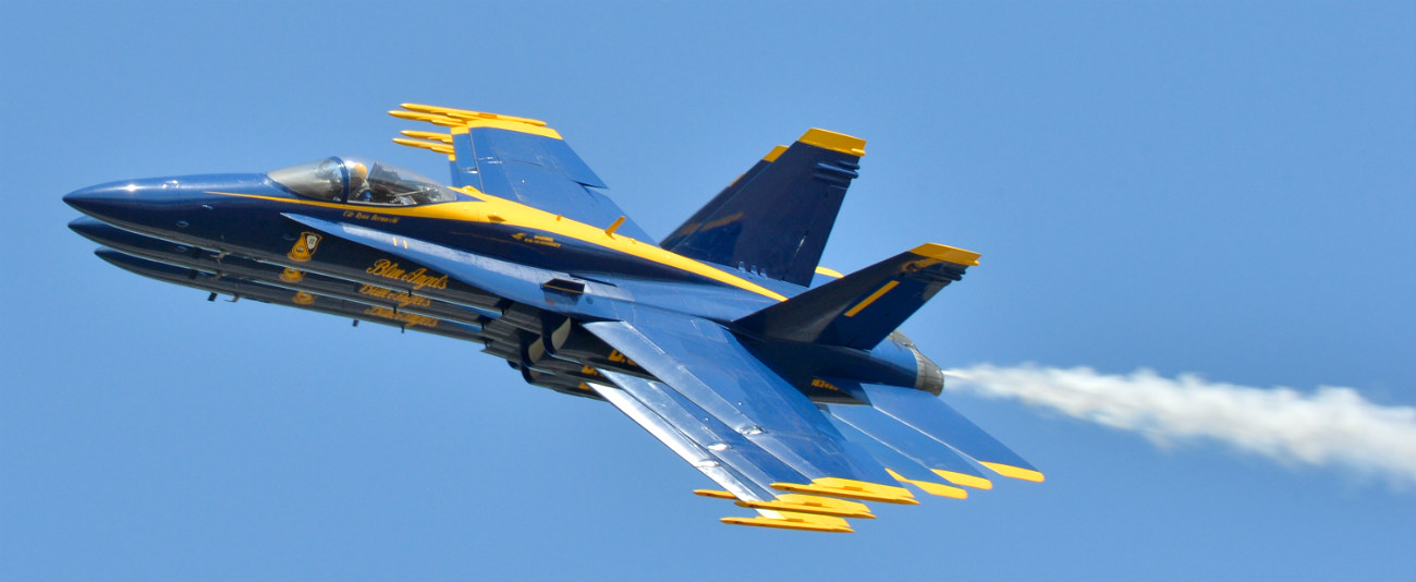 Blue Angels Close sides