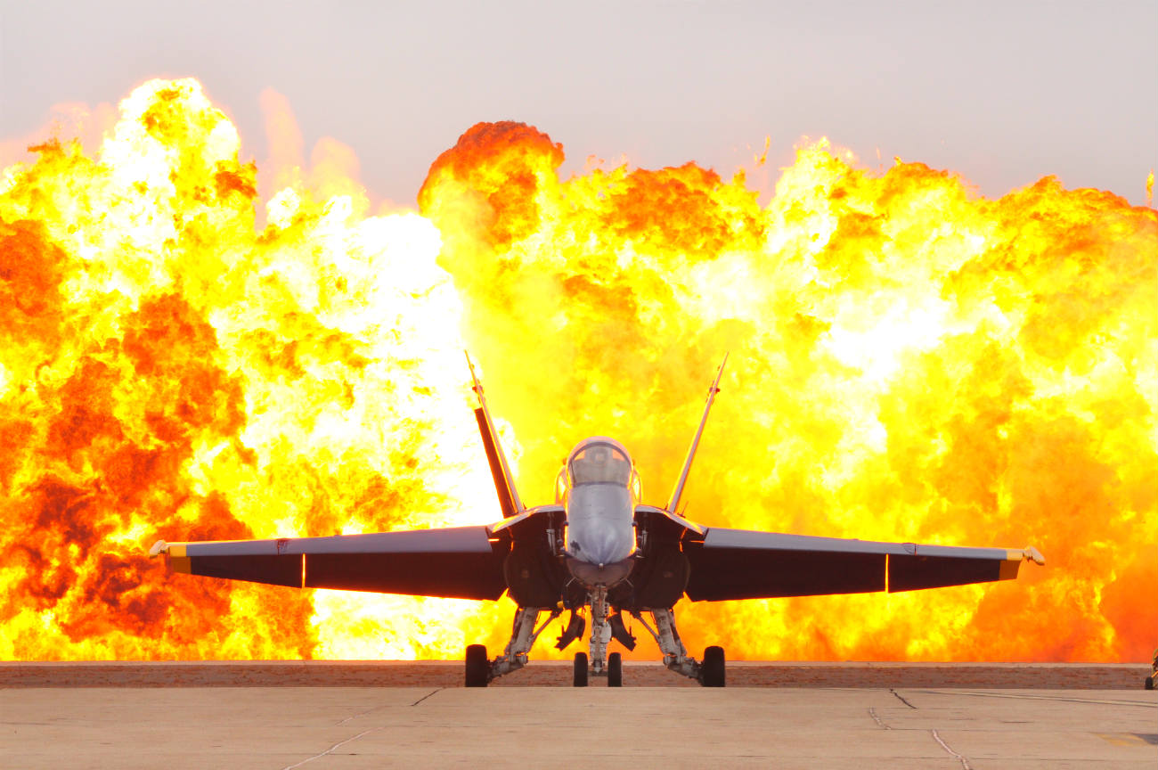 Blue Angels Explosions