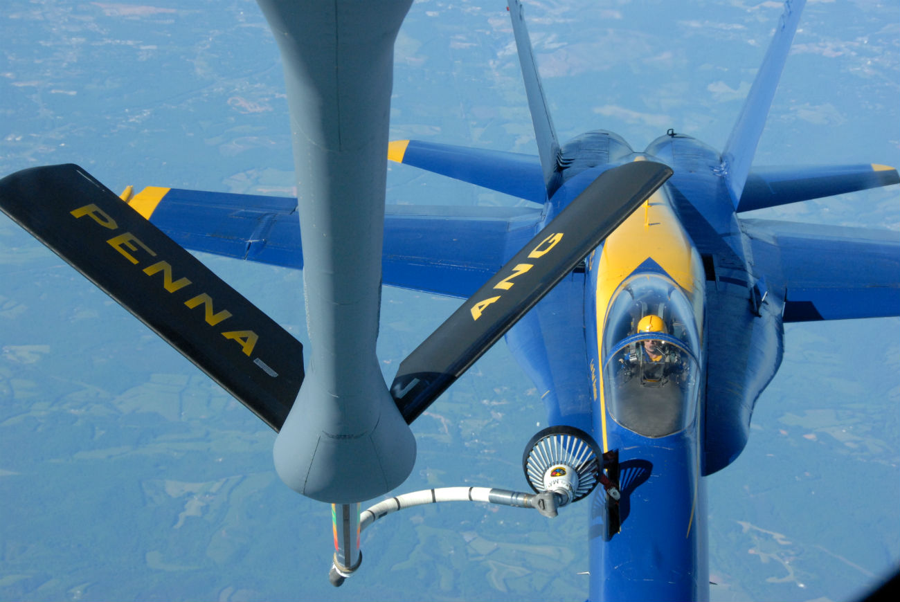 Blue angel Refuel