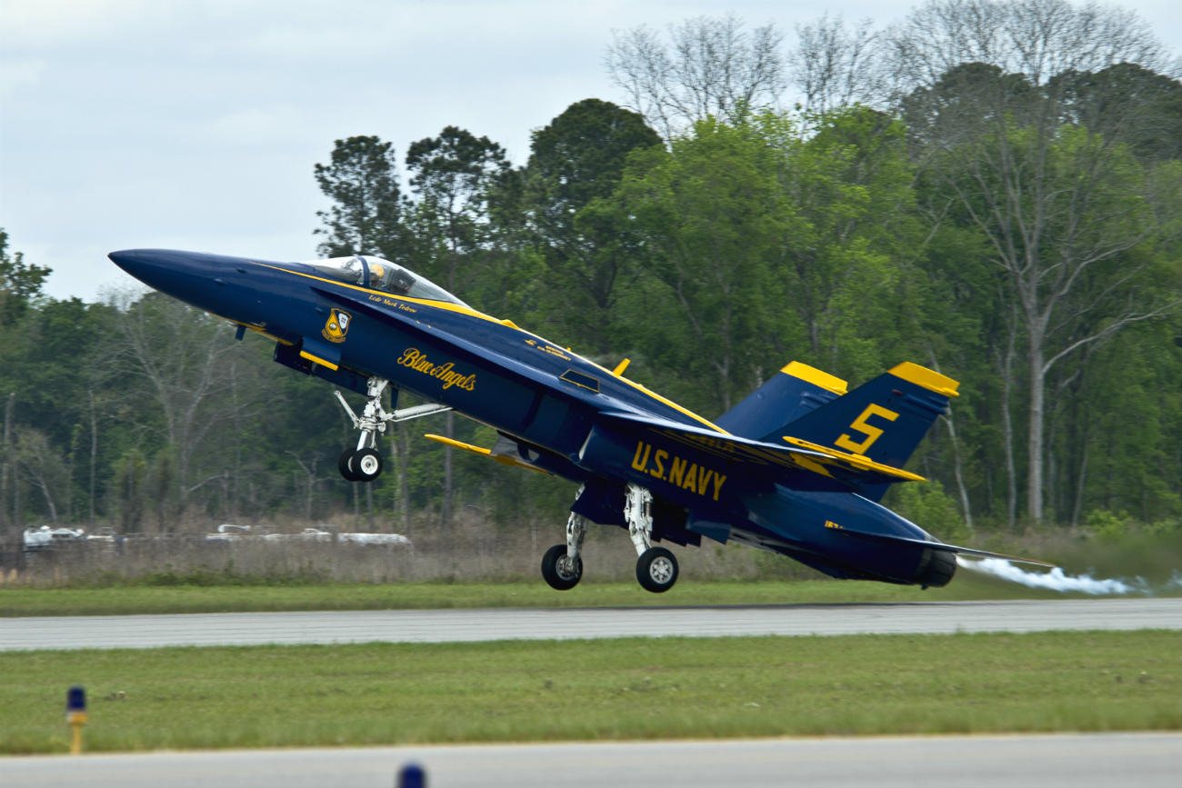 Blue angels quick take off