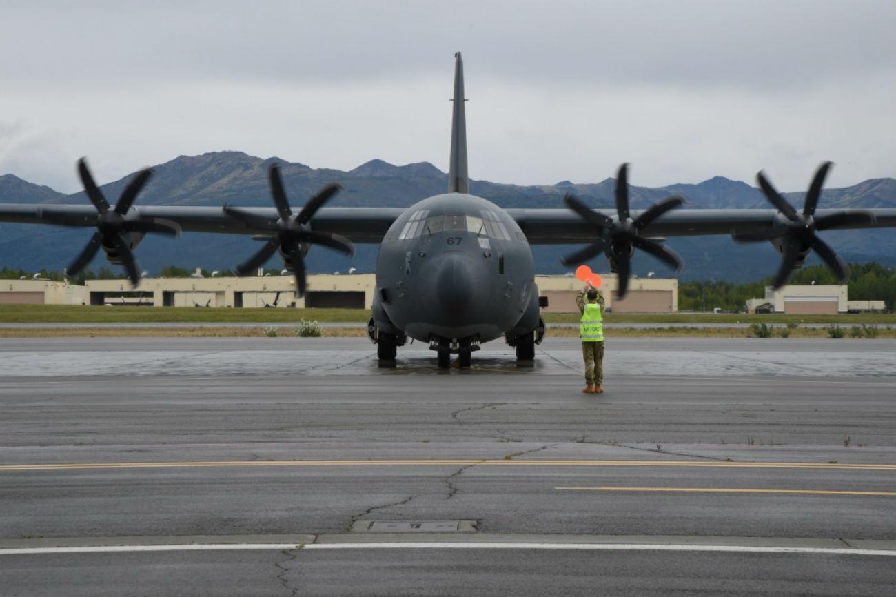 C-130 aircraft Hercules