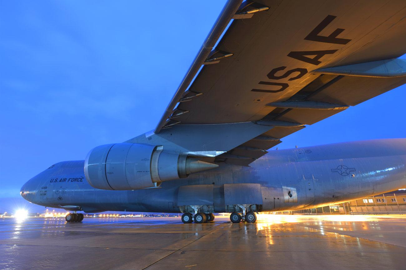 C-5 Galaxy aircraft wing